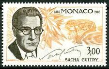 """MONACO - 1985 - """"Le Arti"""". Anniversari della nascita di Sacha Guitry"""
