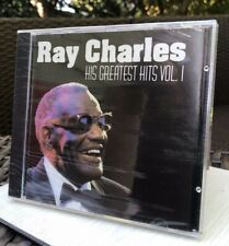 Ray Charles: His Greatest Hits Vol. 1 - New Sealed CD - 20 Tracks 1+ hour music