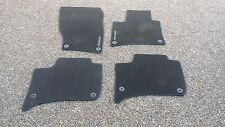 Porsche Cayenne 958 OEM Factory Genuine Black Color Floor Carpet Mat Set