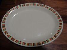 Vintage MCM 1950s Shenango China Restaurant China 11 1/2 in. x 9 in. Platter