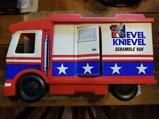 Vintage Evel Knievel 1973 Scramble Van by Ideal with some accessories