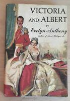 Vintage Hardback Victoria and Albert by Evelyn Anthony Novel 1958 Book Boleyn