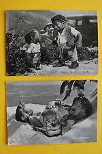 2 AK Mecki Igel 1959+63 Diehl Film HÖR ZU Igelkind Auto Feldmaus Maus Süß !!