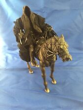 Lord of the Rings LOTR Ringwraith Nazgul and Horse (mud on horse) Toy Biz