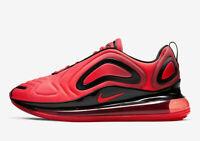MEN'S NIKE AIR MAX 720 RED BRIGHT CRIMSON BLACK 9-13 RUNNING AO2924 600