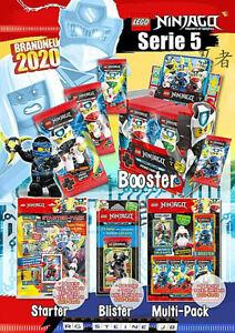 Lego Ninjago Serie 5 Trading Card Cards Game limitiert Goldkarten Prime Empire 4