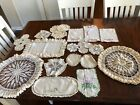 Vintage+crocheted+doilies+and+embroidered+%C2%A0pieces+%2821%29