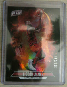 🔥 Num! 2018 Panini Father's Day Panini Collection #4 LeBron James Cavs Lakers