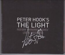 Peter Hook The Light (New Order) - Live At Goodwood - Rare SIGNED 2CD set