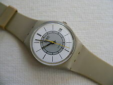 1984 swatch watch Grey Markers GM400
