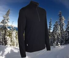 Icebreaker Original 320g Thick Merino Wool Ski/Golf Sweater Mens 3XL Nwt $170