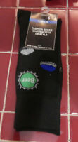 Mens Novelty  Dress Socks Fits Shoe Sizes 6-12-Beer Caps