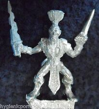 1990 Elfo Oscuro mm73/5 D Marauder Assassin Asesino Drow Warhammer ejército AD&D Gw