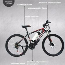 Electric Mountain Bike (High quality carbon steel frame)