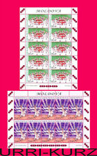 MOLDOVA 2010 Folk Lore National Traditional Dances Costumes 2 m-s Sc685-686 MNH
