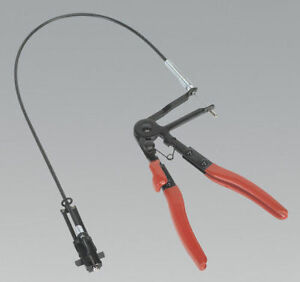 SEALEY TOOLS REMOTE ACTION LONG REACH HOSE CLIP PLIERS