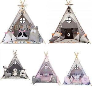 MEGA Tipi Teepee Indianerzelt Kinder Indianer Spielzelt Zelt Tent Namiot Wigwam