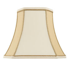 Endon Camilla Lampshade 12 Inch Two-tone Cream Faux Silk 260mm H X 310mm D Max