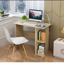 Corner Computer Desk PC Laptop Table 2 Shelves Home Office Desktop Workstation