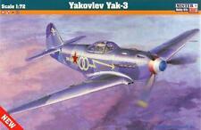 YAKOVLEV YAK 3 (YUGOSLAVIAN, FRENCH, POLISH & SOVIET AF MKGS) 1/72 MISTERCRAFT
