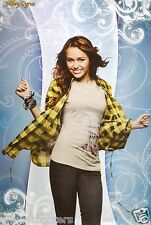 "MILEY CYRUS ""DANCING IN PLAID SHIRT"" POSTER FROM ASIA -Country Pop Dance Music"