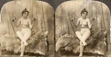 18 Akt - Stereofotos, Opas nude Mix  um 1880 - 1940,  Lot 3