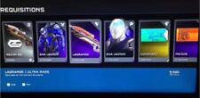Halo 5 EVA Leonov Armor/Assault Rifle Energy Bayonet/Lagrange Weapon Skin DLC