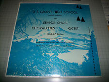 U.S. Grant High School Senior Choir 1966-67 Wilbur E. Funk Portland, OR NEW LP