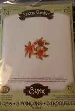 Sizzix Die Cutter 658408 MINI LILY FLOWER 3 dies Thinlits fits BIGkick Big Shot