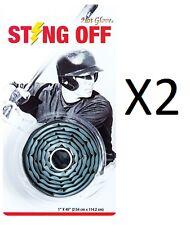 Unique Elastomer Hot Glove Off Shock Absorbing Bat Grip Synthetic Tape (2-Pack)