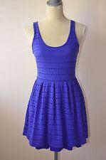 5/48 Saks Fifth Avenue Blue Islet Dress Medium