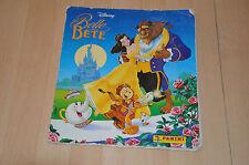album d'images Panini : La Belle et la bête / Disney - Manque 1 seule vignette !