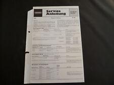 Original Service Manual Grundig RF 440