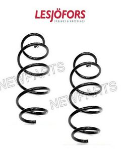 For Mercedes W204 C250 C300 w/ Sports Suspension Pair Set of Front Coil Springs