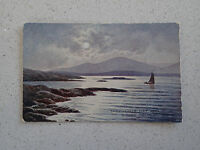 Vintage Postcard - Sheperd's Hat and Sound of Mull Oban. With Stamp (211)