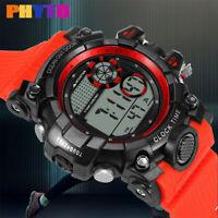 Mode High-End Multi-Funktion 30M Sport wasserdichte elektronische Armbanduhr