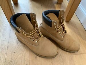 mens timberland boots size 10vintage boots great condition