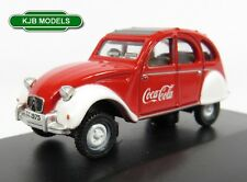 BNIB OO GAUGE OXFORD DIECAST 1:76 76CT007CC CITROEN 2CV COCA COLA CAR