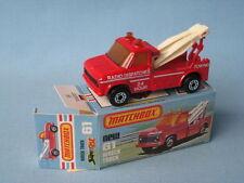 Matchbox Superfast Ford Diecast Trucks