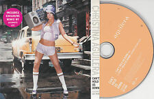 CD CARTONNE CARDSLEEVE CHRISTINA AGUILERA 2T CAN'T HOLD US DOWN