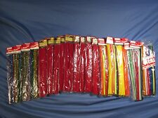 "72 pcs 12/"" x 3//8/"" Wired Pipe Cleaners Christmas Tinsel Craft Chenille Stems"