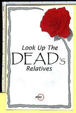 GRATEFUL DEAD 'Dead Relatives' Rykodisc 1989 Ad Flyer Brochure Records/Tapes/CDs