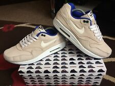 Nike Air Max 1 PRM Taille 9 Classic Sone Voile Hyper Blue 2012