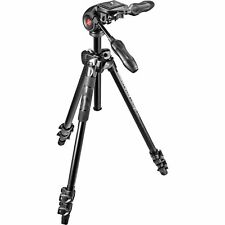 MANFROTTO 290 LIGHT 3 WAY TRIPOD + MH293D3 3 Way Head MK290LTA3-3W (UK Stock)