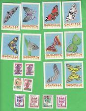 Moldova  Gagauzia Transnistria  Butterflies Overprint MNH
