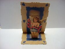 Victorian/Vintage Valentine:TINY ANGEL Pulldown-Germany