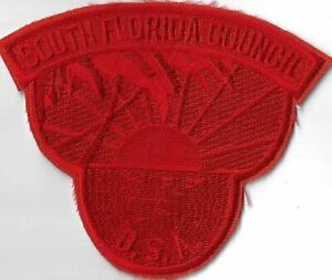 South Florida Council BSA RED Bdr. [MX-7975]