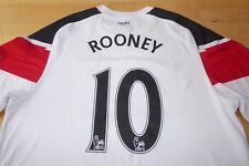 Manchester United Nike 2010-12 Football Soccer shirt jersey Top XLarge Rooney