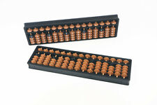 Abacus Soroban 15 Rods Beads Column School Learning Aid Tool For Math Business