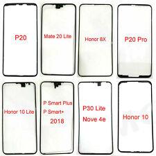 Nuevo Negro Marco Pantalla LCD fijo Soporte de borde frontera Para Teléfono Huawei